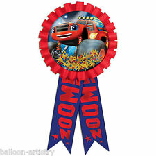 15cm Blaze & The Monster Machines Children's Party Award Ribbon Prize Badge