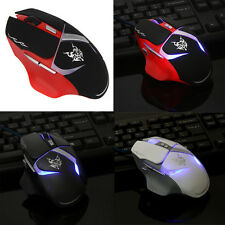 New 1800 DPI 8 Buttons LED USB Optical Wired Gaming Mouse Mice For Pro Gamer PC