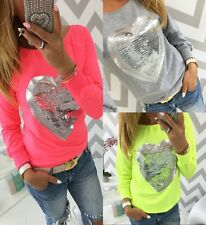 Floral Long Sleeve T shirt Fashion Womens Pullover Blouse Cotton Casual Tops