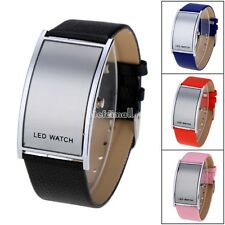 HOT Fashion Women Men's LED Digital Watches Date Sports Quartz Wrist Watch BE0D