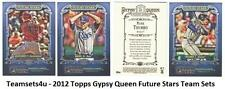 2012 Topps Gypsy Queen Future Stars Baseball Team Sets ** Pick Your Team Set **