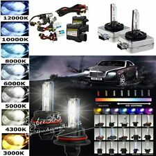 HID Xenon 55W Headlight Conversion KIT Replacemen Bulbs H1/H3/H4/H7/H11/9005 New