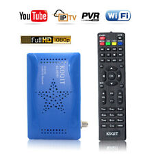 FTA(Free To Air) Mini Size Full HD DVB-S2 Satellite Receiver Tv Box PVR Youtube