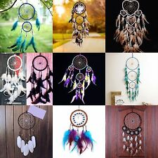 Dream Catcher Net with Feathers Car Wall Hanging Decoration Ornament Craft Gifts