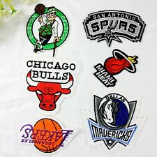 10pcs/set Basketball Team Sew On Embroidered Patches/Badges Applique Motif Gifts