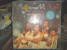 INDIA - THE MAGIC OF BONEY M. LP RECORD POLYDOR CORES 2311017 STEREO 33