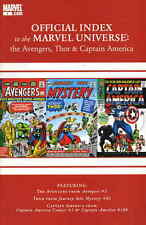 Avengers, Thor & Captain America: Official Index to the Marvel Universe #1 VF/NM