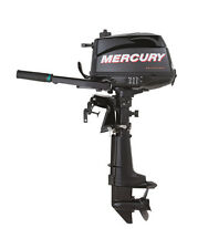 "Mercury 5 HP 4 Stroke Outboard Motor Tiller 25"" Shaft Boat Engine"
