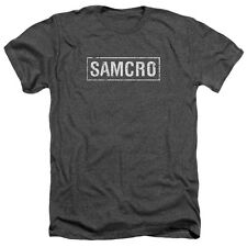 Sons Of Anarchy Samcro Mens Heather Shirt