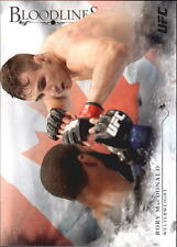 2014 Topps UFC Bloodlines Flag Parallel #89 Rory MacDonald - NM-MT