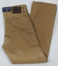 Polo Ralph Lauren Tan Straight Fit Corduroy Pants NWT