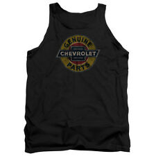 Chevy Genuine Chevy Parts Distressed Sign Mens Tank Top Shirt