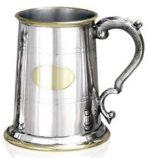 MENS 40th BIRTHDAY 1 PINT PEWTER TANKARD New UK Made Boxed Gift ENGRAVED FREE