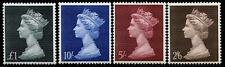 GREAT BRITAIN Sc.# MH  18-21 1967 High Vals (4) Stamps