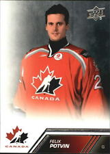 2013-14 Upper Deck Team Canada #125 Felix Potvin