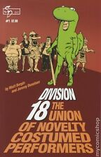 Division 18 Union of Costumed Performers (2007) #1 NM