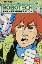 Robotech The New Generation (1985) #8 VF