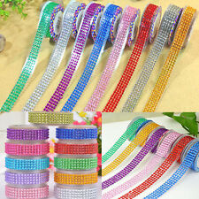 Self-Adhesive Acrylic Rhinestones Stick On Scrapbooking Craft Sticker Tape Craft