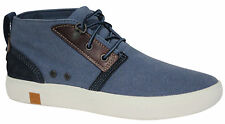 Timberland Amherst Chukka Vintage Womens Boots Lace Up Shoes Blue A15PZ U4
