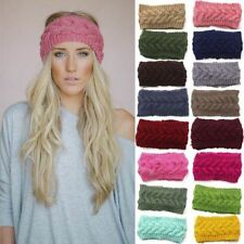 Warm Knit Beanie Fashion Women Winter Wool Beret Hat Braided Crochet Ski Cap CHI