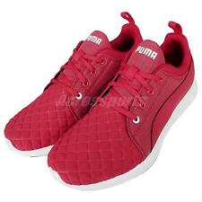 Puma Carson Runner Quilt Wns Red White Womens Running Shoes Sneakers 188189-03