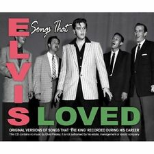 Songs That Elvis Loved Elvis Presley Audio CD