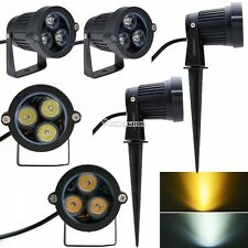 3W LED Landscape Garden Flood Spot Lights Lighting Lamp W/Rod Energy saving W3LE