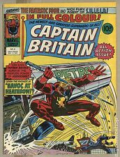 Captain Britain (1976) United Kingdom #6 FN/VF 7.0