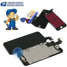 for iPhone 5C LCD Display Touch Screen Digitizer Replacement Repair Tools Black