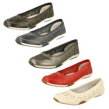 Ladies Down To Earth Ballet Flats Label F3119 -W