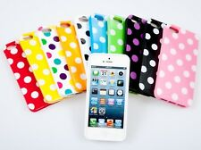 iPhone CASES Polka Dot TPU Gel Silicone Case Cover For APPLE iPhone 5 5S SE