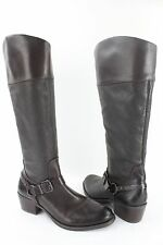 """NEW Vince Camuto """"Brunah"""" Brown Leather Women's Knee High Boot RETAIL $240"""