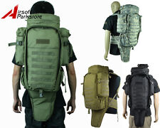 Molle Tactical Military Swat Police Hunting Rifle Gun Carrying Case Bag Backpack
