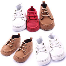 0-12Months New Infant Baby Crib Shoes Girls Boys Soft Sole Slip Toddler Shoes