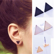 Simple Triangle Earring Women Lady Punk Style Street Style Ear Stud Earrings CHI