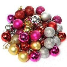 Xmas Decor Christmas Tree Balls Baubles Party Wedding Room Ornament 24pcs/6pcs