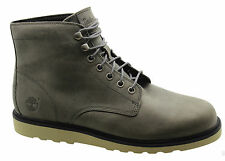 Timberland Earthkeepers EK Newmarket Wedge Mens Boots Grey Leather 6813A D92
