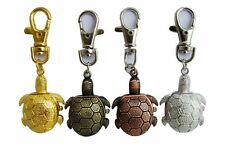 New Tortoise style Key Ring Pocket quartz Watch boys girls lady Xmas gift USD28