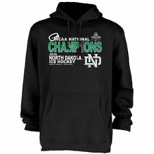North Dakota Black 2016 NCAA Men's Hockey National Champions Pullover Hoodie