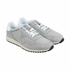 Diesel S-Swifter II Mens Gray Suede Lace Up Sneakers Shoes