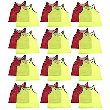 Training YOUTH Practice Pinnies Jerseys KIDS Sports Scrimmage Football Soccer