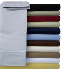 Queen size Royal Collection Super Soft & Wrinkle-Free Microfiber Solid Sheet Set