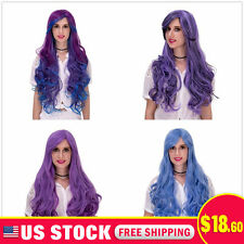 Long Women Anime Cosplay party Wig hair Halloween Lolita fluffy wavy Curly Wigs