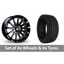 "4 x 20"" Bola XTR Matt Black Alloy Wheel Rims and Tyres -  275/40/20"