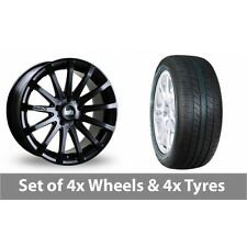 "4 x 20"" Bola XTR Matt Black Alloy Wheel Rims and Tyres -  265/50/20"