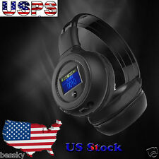 Universal Stereo Bluetooth Wireless Headset/Headphones With Call Mic/Microphone