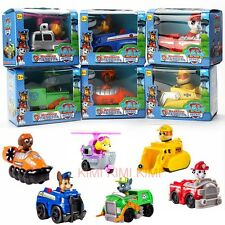 New PAW PATROL COMPLETE SET 6 Racer Pups Choice of Characters One Supplied Gifts