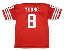 STEVE YOUNG San Francisco 49ers 1988 Throwback NFL Football Jersey