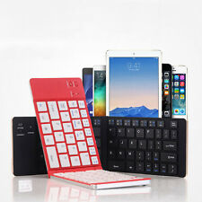 Universal Portable Foldable Wireless Bluetooth Keyboard For iPhone PC Tablet