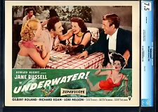 UNDERWATER!-JANE RUSSELL-SKIN DIVING-VF--CGC 7.5 LOBBY CARD VF-